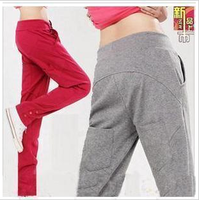 Harem pants female 2013 spring and autumn women's plus size female casual pants sports pants harem pants long johns