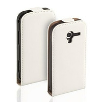 Genuine Leather Flip Case Cover For Samsung Galaxy Ace 2 I8160 Free shipping