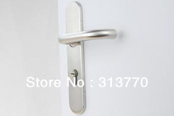 72mm Free shipping  2pcs handles with lock body+keys 304 stainless steel handle lock interior Door locks