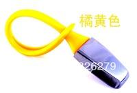 Orange Newest Hot Denmark menu titanium keychain car gift car key ring/key chain keyfob