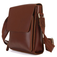 2013 street fashion brief handmade genuine leather first layer of cowhide casual Men messenger  1021