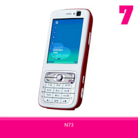 Unlocked Original N73 SmartPhone Symbian OS 3.2MP+0.3MP Dual Camera Bluetooth FM Radio Free Shipping