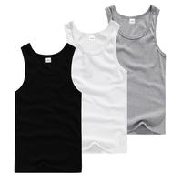 2015 Direct Selling Camisa Termica Mens Wrestling Singlet Men's Cotton Undershirt Solid Tight Sports Elastic Vest Men Hot Sale