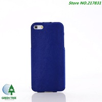 DHL Shipping 100pcs/lot Luxury Ultra Slim Leather Flip Case Cover For Apple iPhone 5g 5S