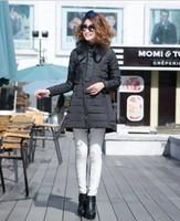 2014 time-limited promotion long no full solid slim wool liner chiffon medium-long fox fur bow women oblique zipper down coat