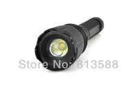 FREE SHIPPING CREE LED 5W XML  3*C alkaline batteries Aluminium LED flashlight led torch