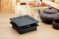 Ebony fretwork incense coil holder  wood  incense burner could be use as censer