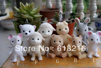 wholesale 30 pcs/ lot Sylvanian families toy  doll gift limbs moving toy  D789