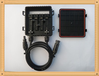 MC4 solar junction box with cable and connector