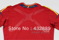 13/14 Spain Player Custom Torres Villa Alonso Brand Cheap Soccer Jersey Dri Fit TECHFIT X Rubber Thailand Thai quality