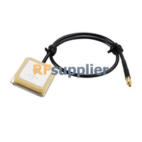 GPS internal Antenna MMCX Plug connector with RG174 30CM