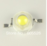 Free shipping, 100PCS/LOT High power Epistar chip 1W 100-110LM 3.0-3.3V Natural White lamp 4450-4700K