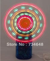 LED Mini Light-Up Handheld Fan