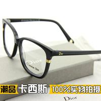 Cd3233 personality vintage glasses frame Women full frame myopia frame eyeglasses big box metal radiation-resistant frames