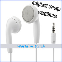 Hot sale! 100% Original 3.5mm Earphone for POMP Andriod Smartphone ,In Ear with mic, High Quality & Free Shipping
