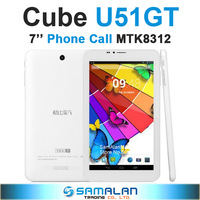 7'' Cube U51GT Talk 7 Phone Call Tablet PC Android 4.2 MTK8312 Dual Core 1.3GHz WCDMA GPS Bluetooth FM