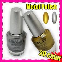 Free Shipping TNT or DHL 20pcs Nail Polish Korea Amazing Metal Polish