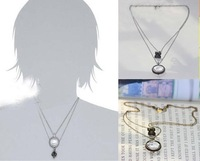 New Arrival! Wholesale Vintage Quality Antique Silver Lucky Monocle Magnifier necklace, free shipping