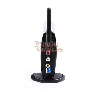 New PAT-330 150m 2.4G Wireless AV Sender TV Audio Video Transmitter Receiver P4P