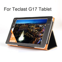 Free Ship! Original Case for Teclast G17 tablet pc Stand Cover, Protector Shell, Grace Black
