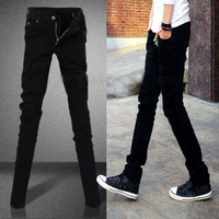 Autumn men's clothing male jeans trousers men's male slim skinny pants pencil pants long trousers