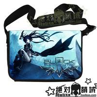 Black Rock Shooter High Quality Messenger Bag Anime BRS Laptop Bag Casual Shoulder Bag School Bag Free Shipping