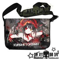 High Quality Date A Live Anime Series Messenger Bag Laptop Bag Shoulder Bag School Bag Free Shipping