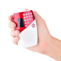 Portable card speaker radio mini mobile phone small audio usb flash drive player