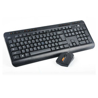 2.4g wireless multimedia waterproof wireless mouse and keyboard set wireless computer keyboard mouse