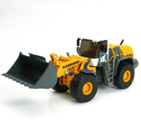 Full alloy engineering car big forkfuls loaders alloy car model alloy child toy