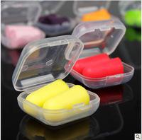 Free shiping!Packed memory foam anti-noise earplugs sound insulation earplugs sleeping xiangzao earplugs-TBH