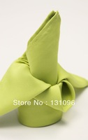 Olive Green Polyester Plain Napkin 50x50cm ,Table Napkin For Weddings Events &Party&Restaurant &Hotel