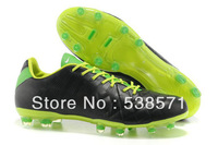 cheap retail men Tiempo Legend IV Elite Pique Ronaldinho leather soccer cleats football shoes FG outdoor footwear
