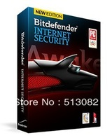 BitDefender Internet Security 2014 2013 1Yr 3PC BIS 2Years 3PC