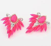 Colorful Acylic Statement Drop Earrings New Fashion Jewelry cxt98332