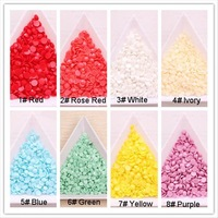 2000 pcs 3mm Free Shipping nail art rhinestones flat back wholesale in Acrylic Material with Plastic Case packing