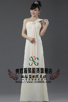 White one shoulder evening dress formal dress white liturgy clothes dinner party clothes
