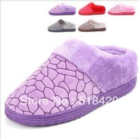 Woman's Household shoes   indoor slippers thermal cotton-padded winter home lovers slip-resistant  Cotton slippers