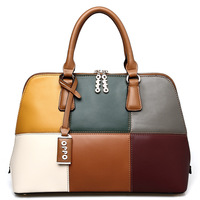 For oppo   women's handbag fashion color block shell handbag women's handbag 2013