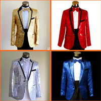 2013 mens designer   formal dress suits paillette costume  clothes  clothing  suit blazer for men