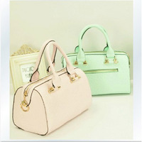 Rose print bucket handbag fashion handbag cross-body women's handbag 8254