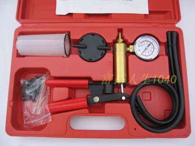 Ktg manual vacuum pump vacuum suction automotive tools auto repair tools(China (Mainland))