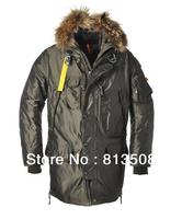 2013 real fur coat for men's down jackets winter outdoor clothing overcoat  Sanbing 903 Kodiak Long Parka