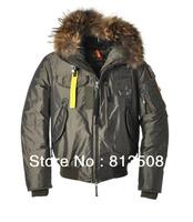 2013 real fur coat for men's down jackets winter outdoor clothing overcoat  Sanbing Gobi 812 Karpa