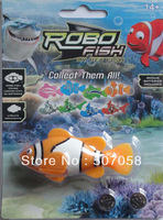 Best selling automatically swim robotic/robo fish FEDEX free shipping(120pcs a lot )
