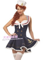 Fashion sailor suit navy uniforms sea military ds female cosplay costume school wear