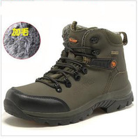 Free shipping 2013 winter men hiking shoes,outdoor casual shoes,cotton shoes, waterproof high thermal add wool snow boots