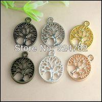 20X24mm Metal Wishing tree / Wish Tree of Life / Life Tree Connector / Pendants Beads Bracelet / Necklaces Jewelry findings