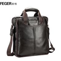 Shoulder bag bag handbag genuine leather bag man bag commercial cowhide briefcase messenger bag casual bag