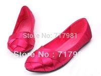 free shipping hot sale Reva Ballerina BALLET FlatsThe cross straps pointed silk surface flat shoes Flats women shoes(1pairs)
